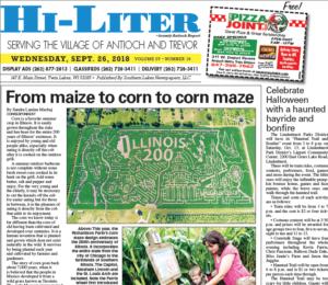 Illinois HiLiter for 9/26/2018