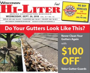Wisconsin HiLiter for 9/26/2018