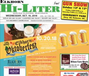 Elkhorn HiLiter for 10/10/2018