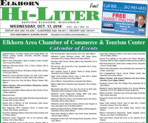 Elkhorn HiLiter for 10/17/2018
