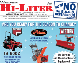 Wisconsin HiLiter for 10/31/2018
