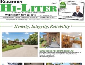 Elkhorn HiLiter for 11/28/2018