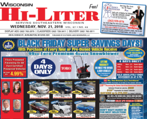 Wisconsin HiLiter for 11/21/2018