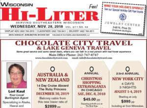 Wisconsin HiLiter for 11/28/2018