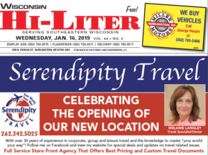 Wisconsin HiLiter for 1/16/2019