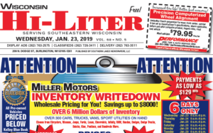 Wisconsin HiLiter for 1/23/2019