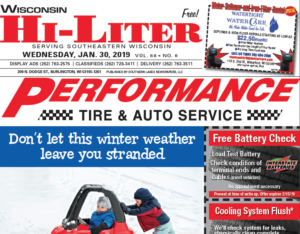 Wisconsin HiLiter for 1/30/2019