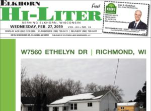 Elkhorn HiLiter for 2/27/2019