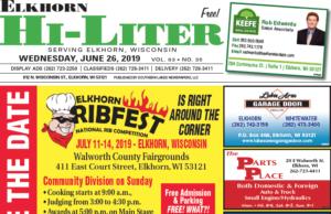 Elkhorn HiLiter for 6/26/2019