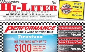 Wisconsin HiLiter for 6/19/2019