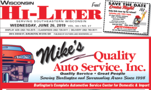 Wisconsin HiLiter for 6/26/2019