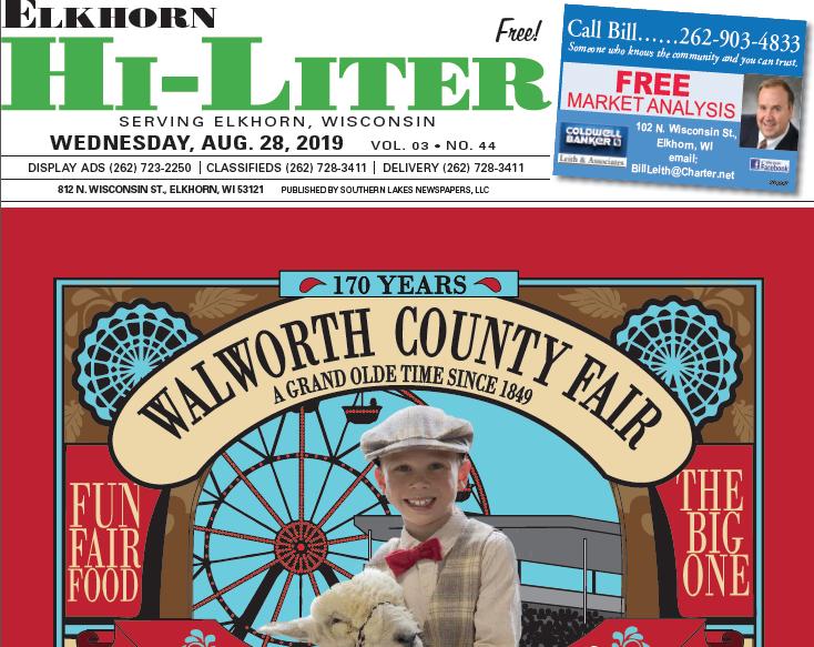 Elkhorn HiLiter for 8/28/2019