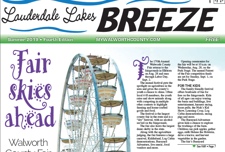 Lauderdale Lakes Breeze for September of 2019