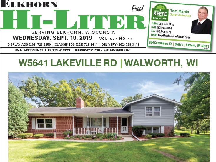 Elkhorn HiLiter for 9/18/2019