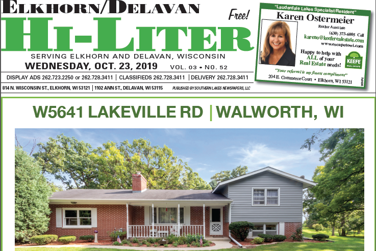 Elkhorn/Delavan HiLiter for 10/23/2019