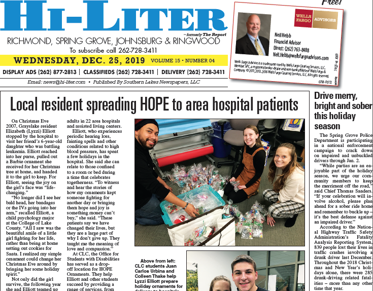 Illinois HiLiter for 12/25/2019
