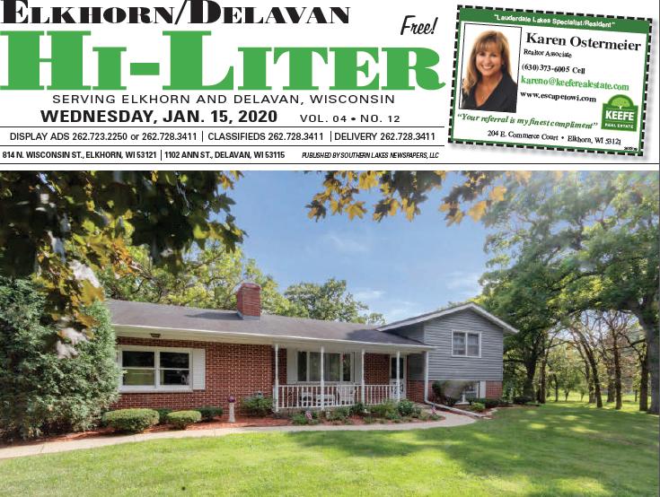 Elkhorn/Delavan HiLiter for 1/15/20