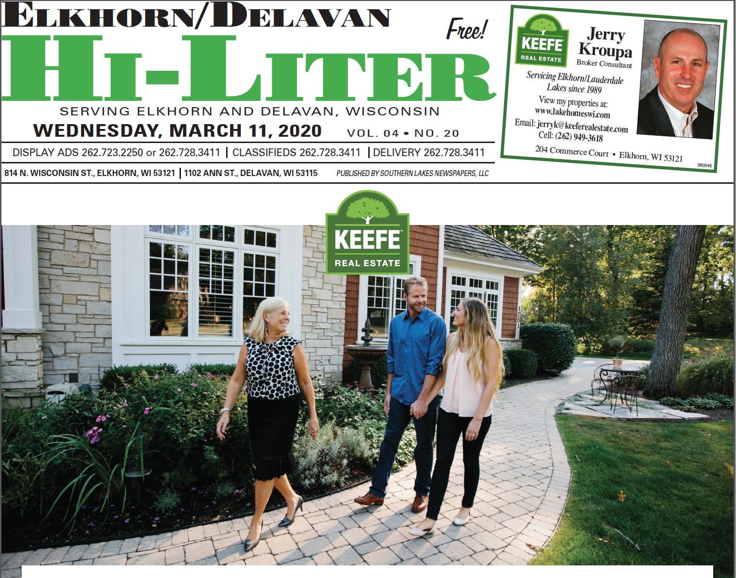 Elkhorn/Delavan HiLiter for 3/11/2020