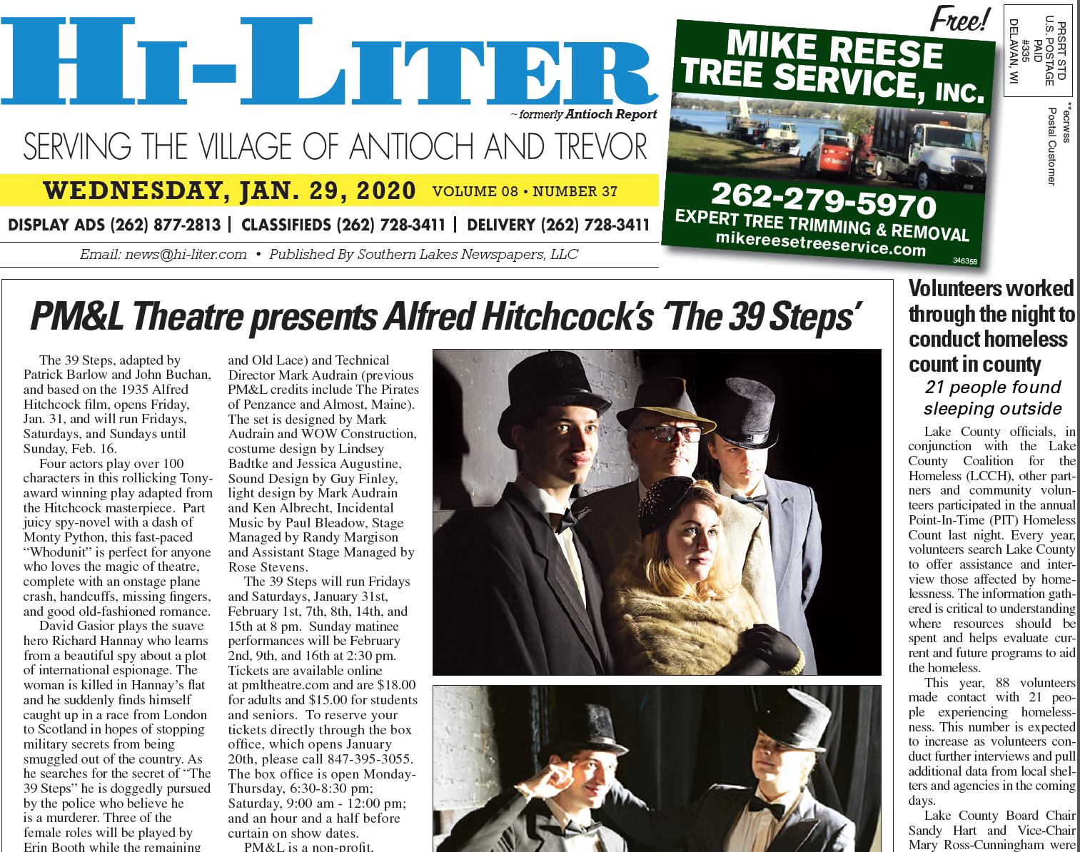 Illinois Hiliter for 1/29/20