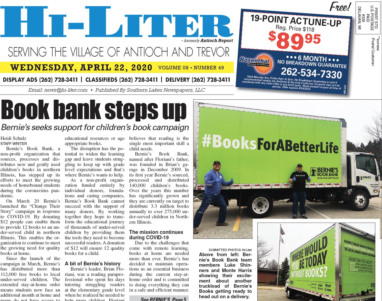 Hi-Liter Illinois 4/22/2020