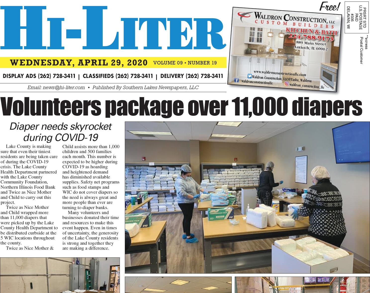 Hi-Liter Illinois 4/29/20
