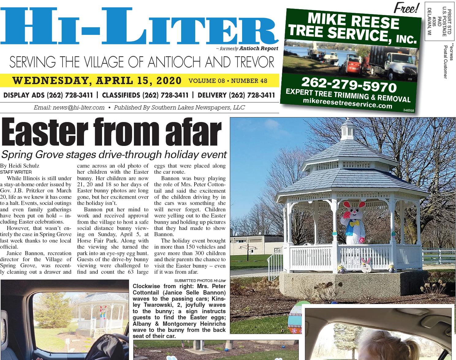 Hi-Liter Illinois 4/15/20