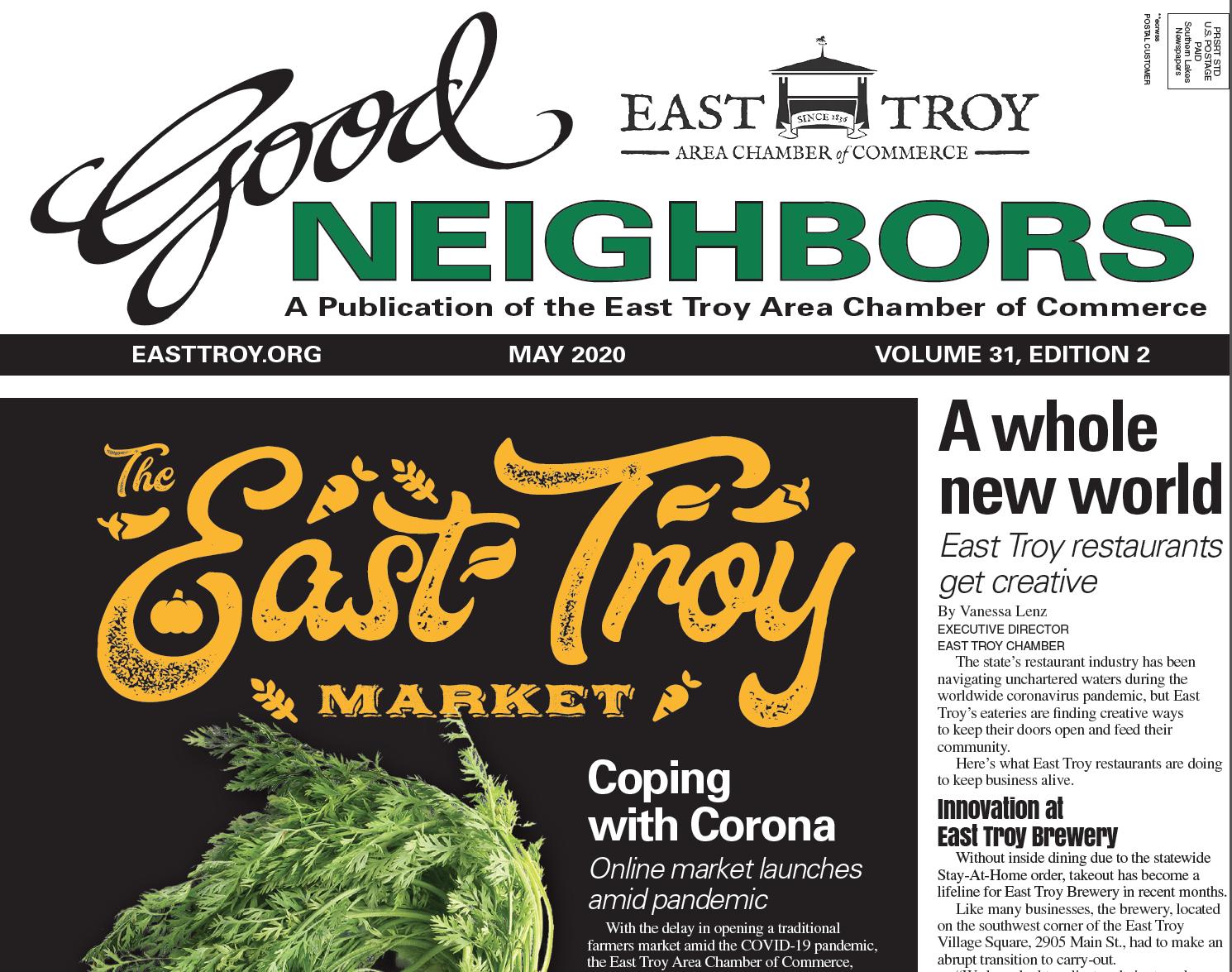 East Troy Good Neighbors May 2020