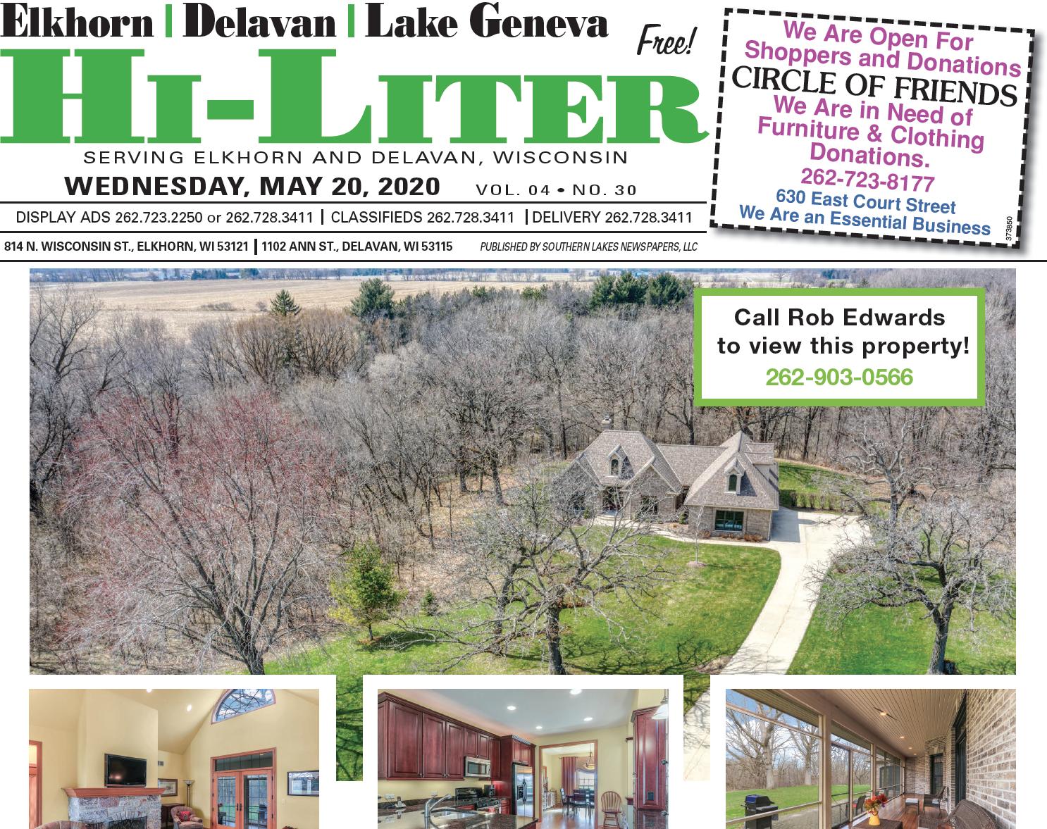 Hi-Liter Elkhorn/Delavan 5/20/2020