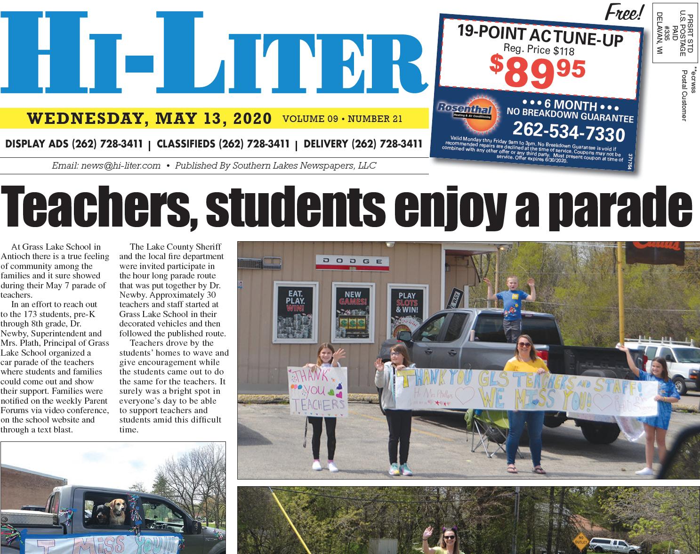 Hi-Liter Illinois 5/13/20