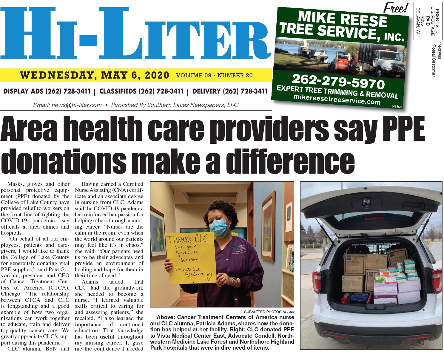 Hi-Liter Illinois 5/6/20
