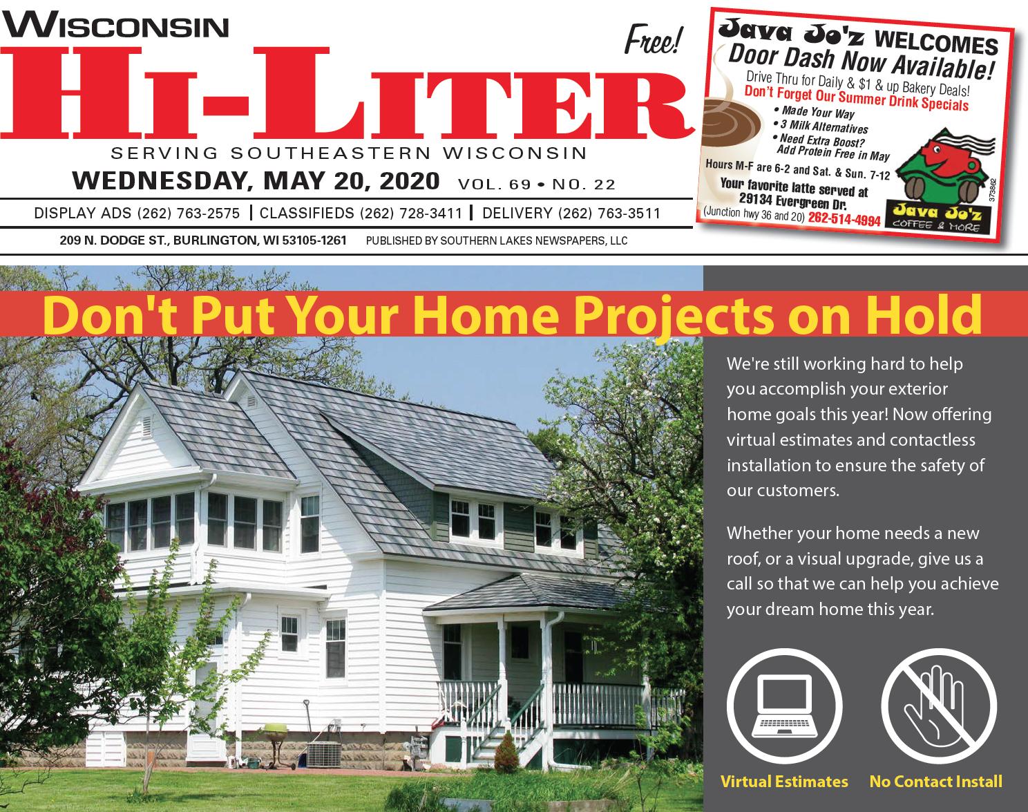 Hi-Liter Wisconsin 5/20/2020