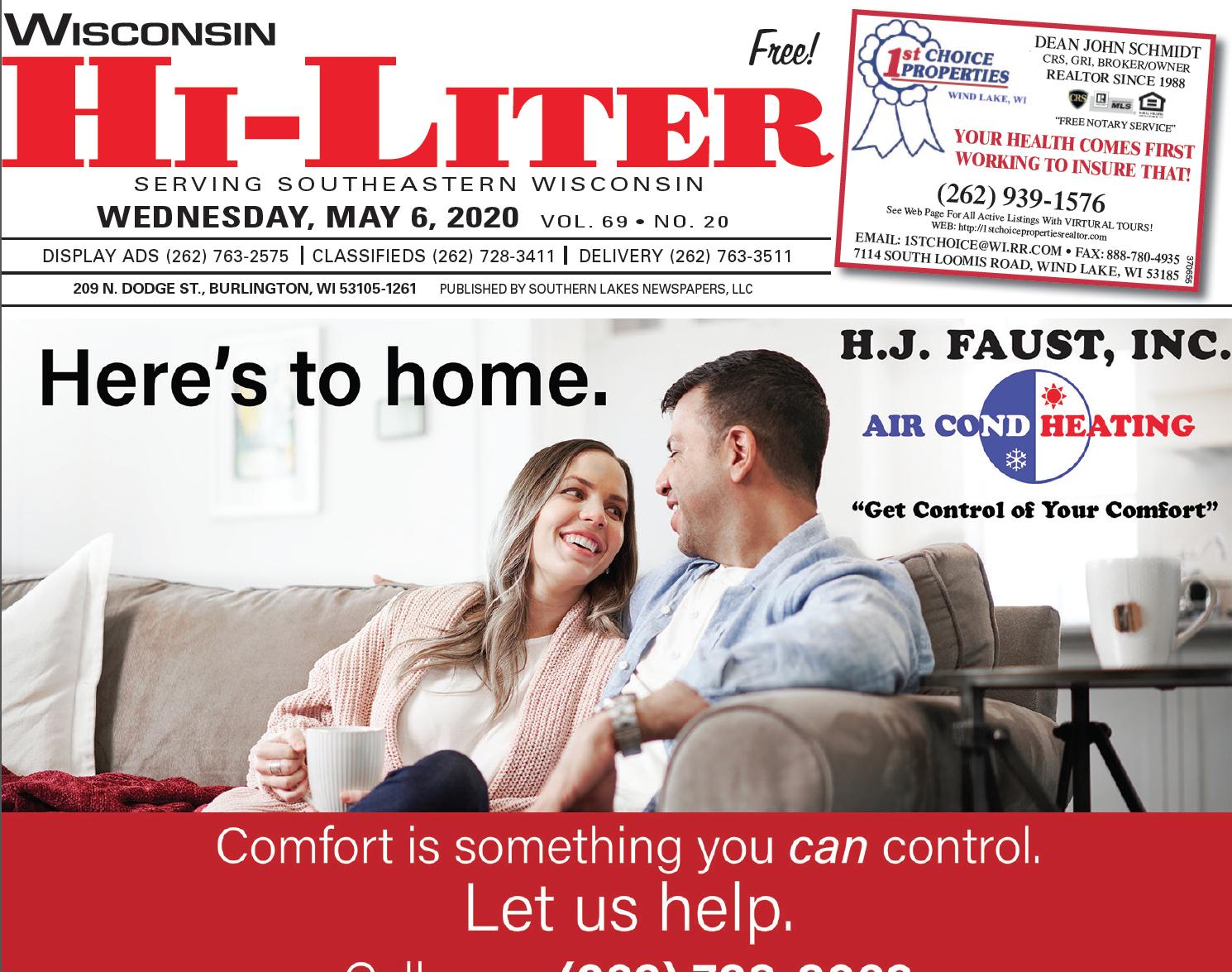 Hi-Liter Wisconsin 5/6/2020