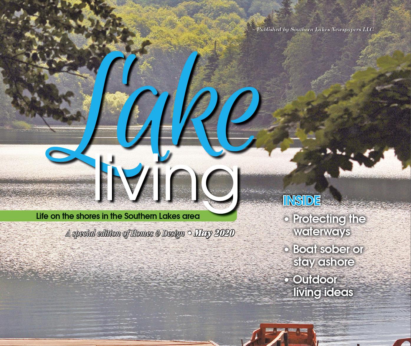 LAKE LIVING may 2020