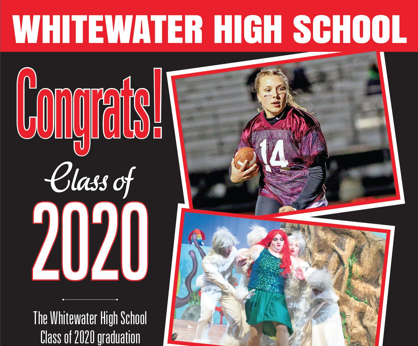 Whitewater Graduation 2020