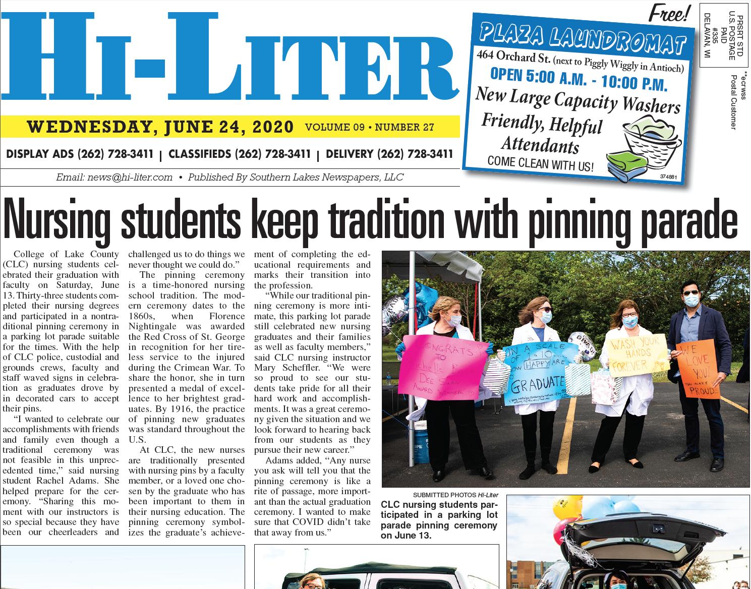 Hi-Liter Illinois 6/24/20