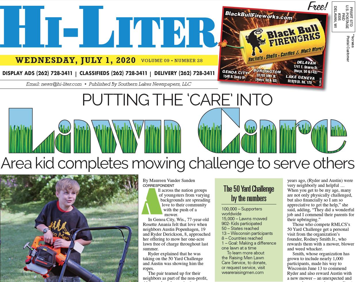 Hi-Liter Illinois 7/1/20