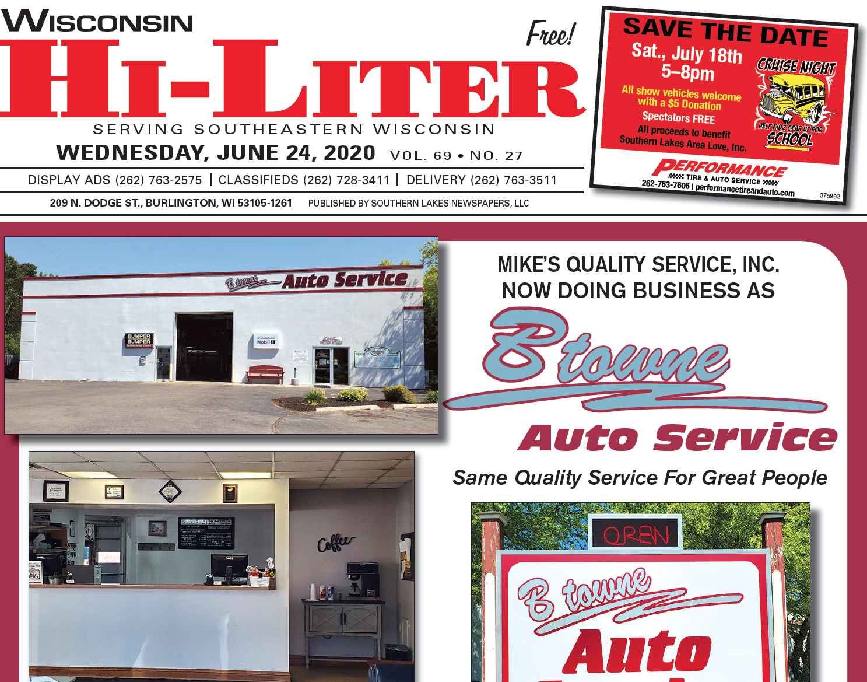 Hi-Liter Wisconsin 6/24/2020