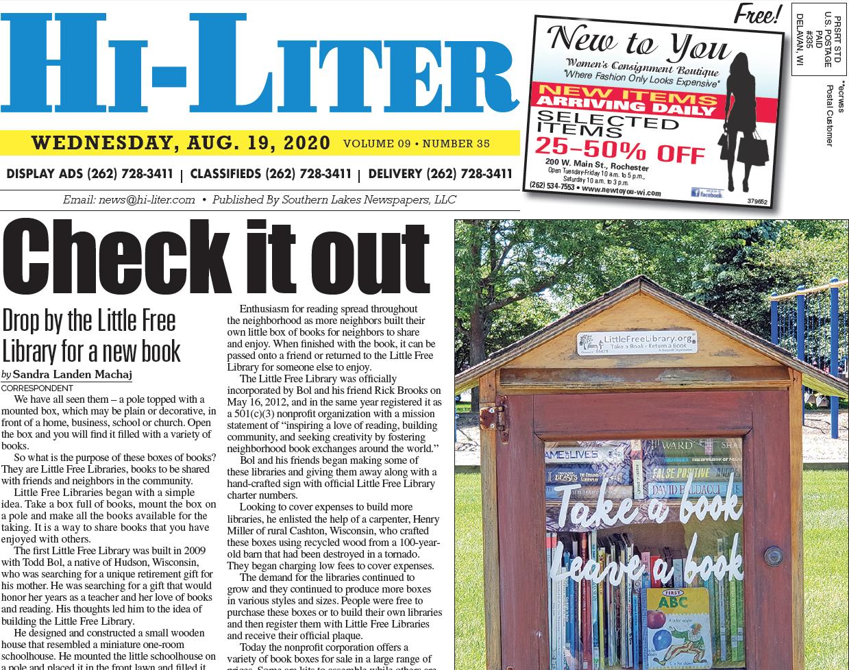 Hi-Liter Illinois 8/19/20