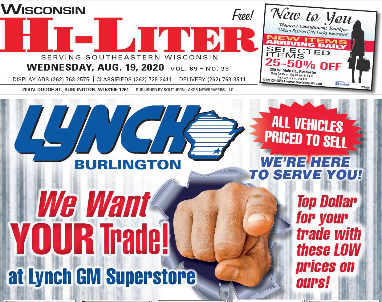 Hi-Liter Wisconsin 8/19/2020