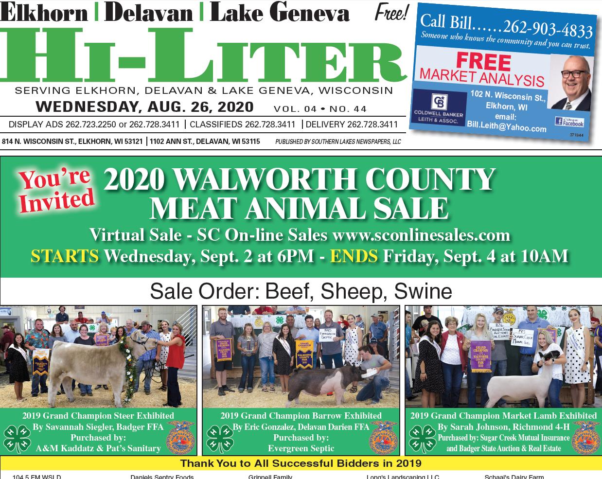 Hi-Liter Elkhorn/Delavan 8/26/2020