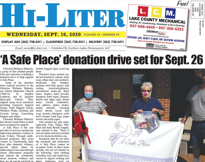 Hi-Liter Illinois 9/16/20