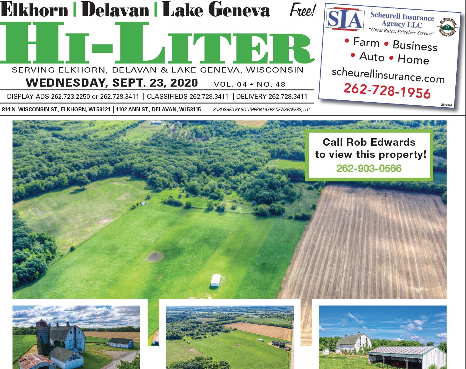 Hi-Liter Elkhorn/Delavan 9/23/2020