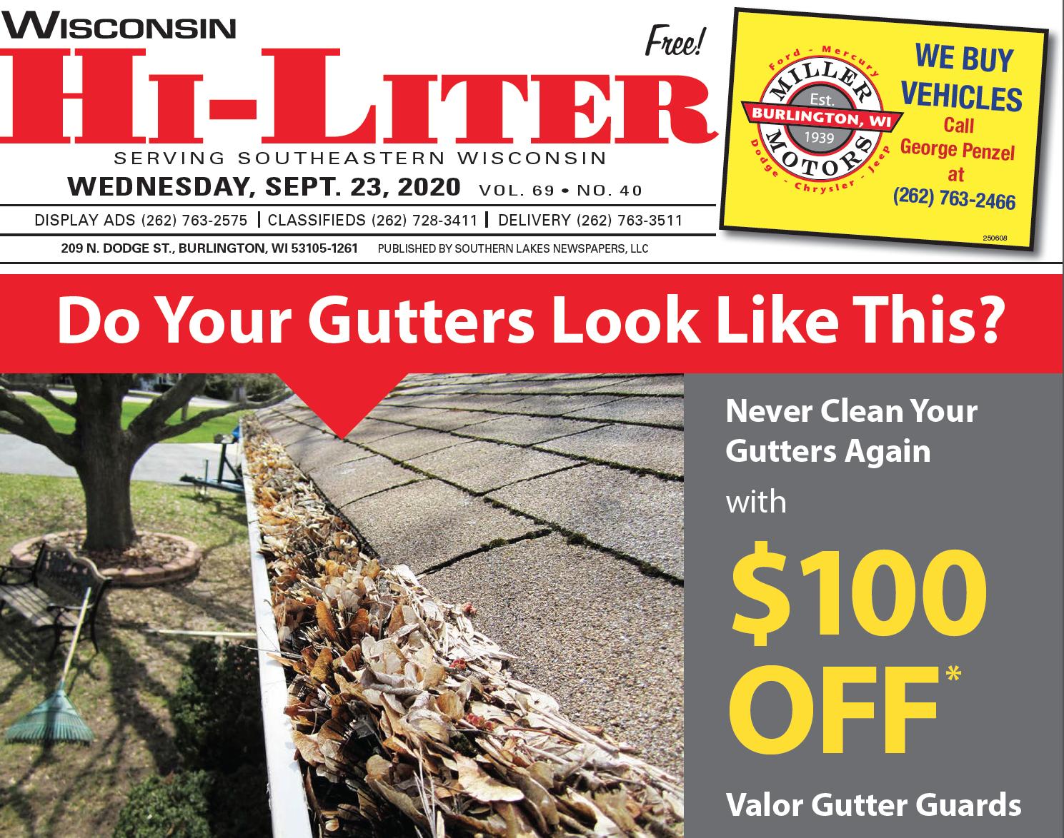 Hi-Liter Wisconsin 9/23/2020