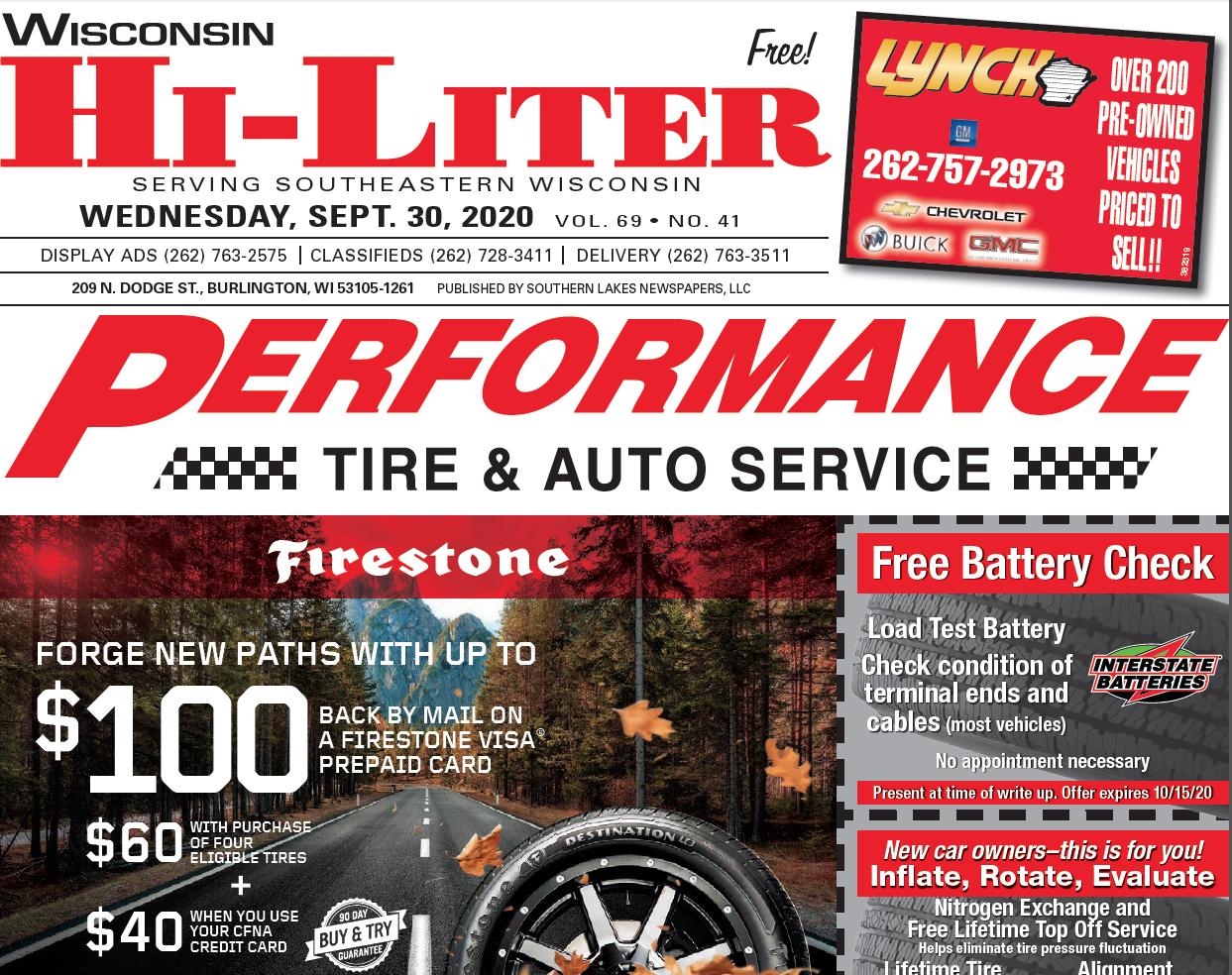 Hi-Liter Wisconsin 9/30/2020