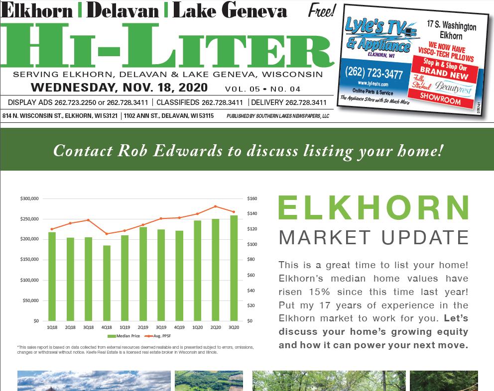 Hi-Liter Elkhorn/Delavan 11/18/2020