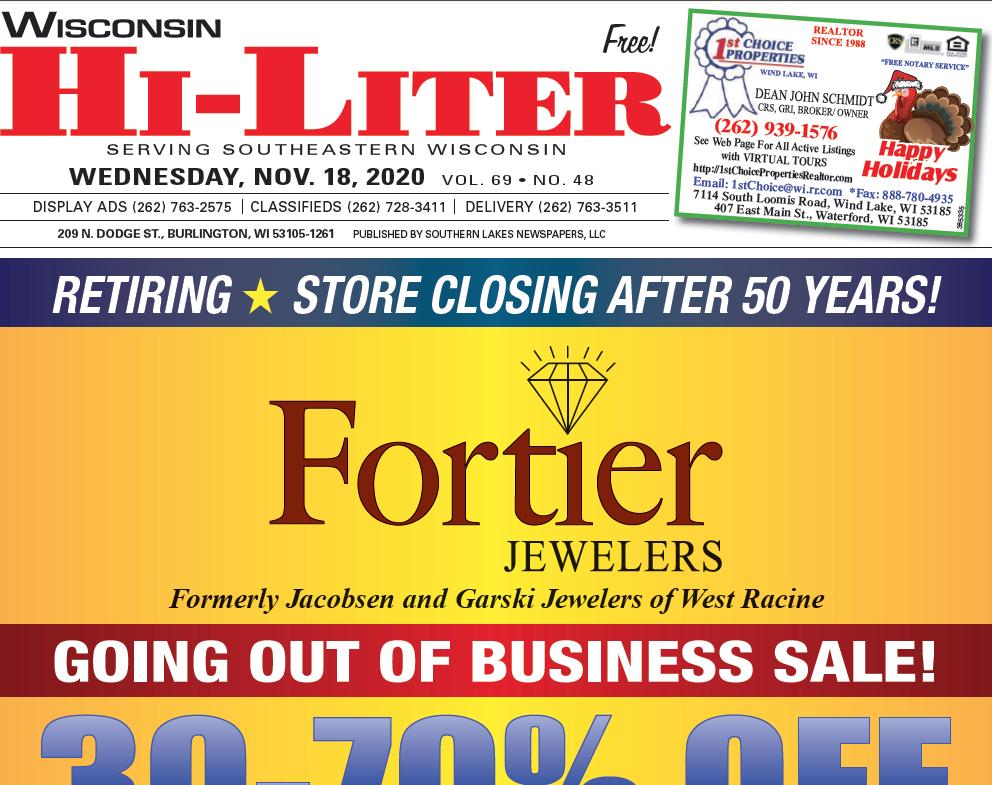 Hi-Liter Wisconsin 11/18/2020