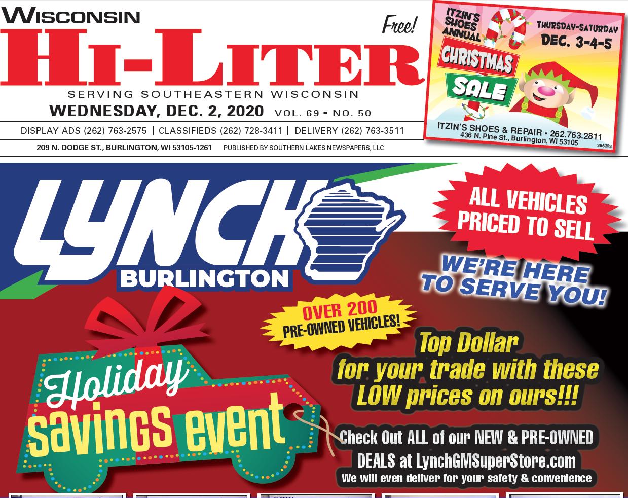 Hi-Liter Wisconsin 12/2/2020