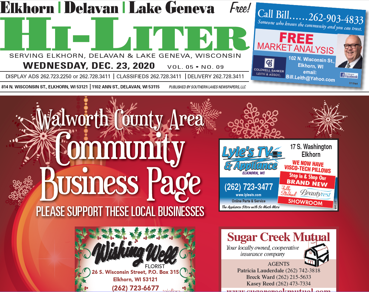Hi-Liter Elkhorn/Delavan/Lake Geneva 12/23/2020