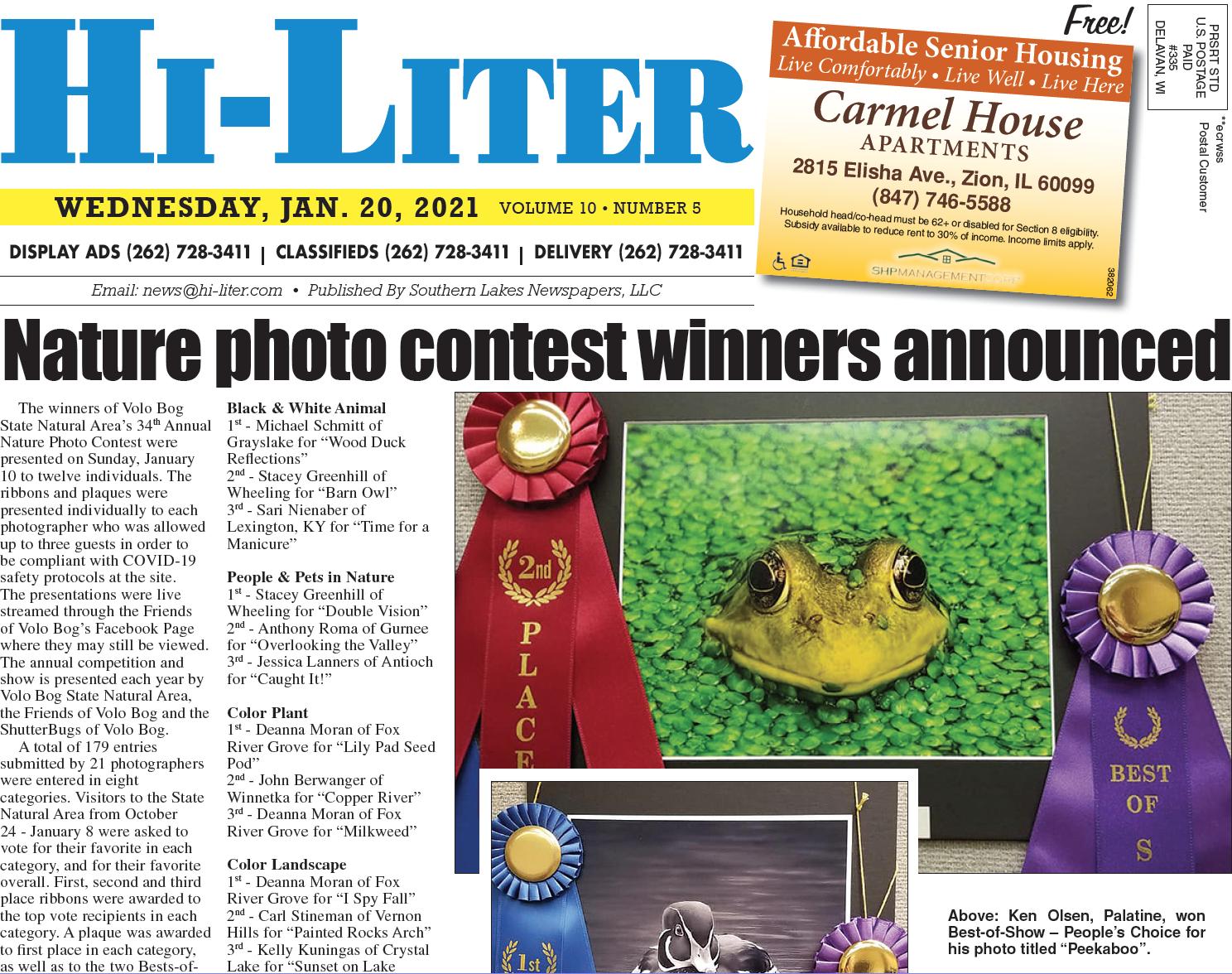 Hi-Liter Illinois 1/20/21