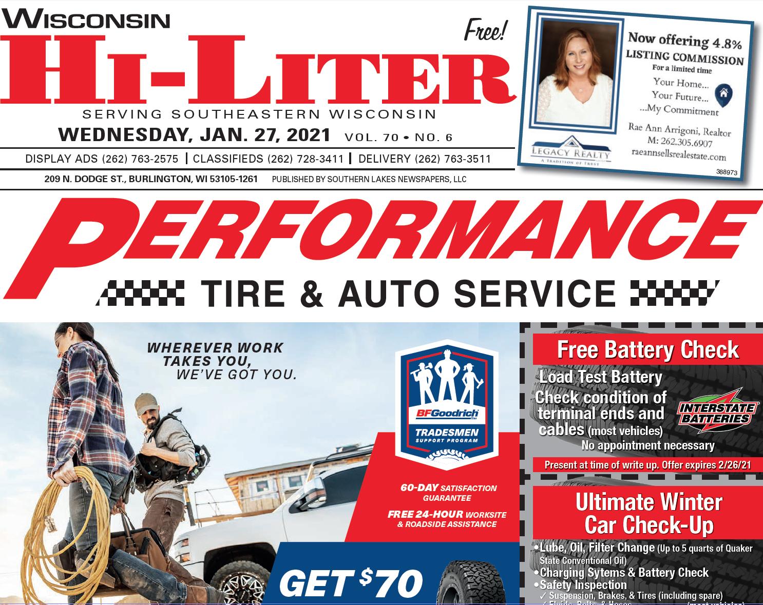 Hi-Liter Wisconsin 1/27/2021